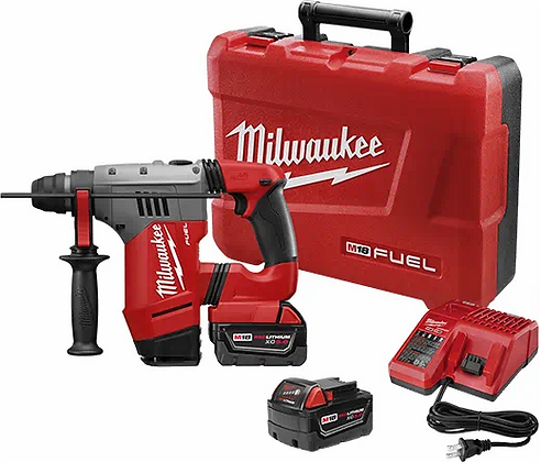 Milwaukee 2715-22 M18 FUEL 1-1/8in. SDS Plus Rotary Hammer Kit