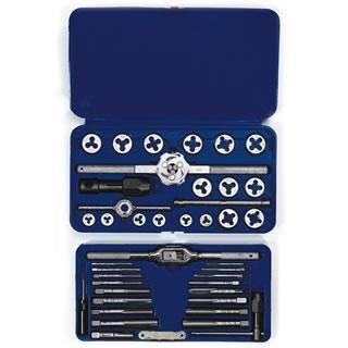 Irwin 24606 41-pc Machine Screw / Fractional Tap & Hex Die Set