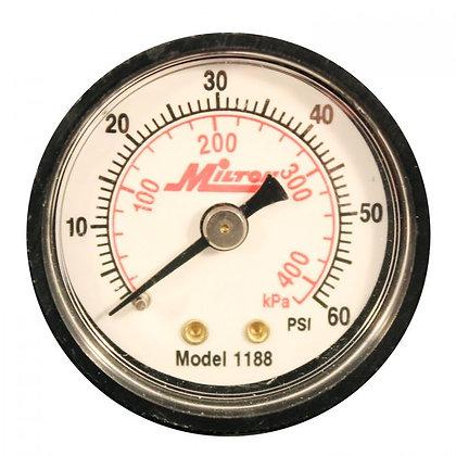 Milton 1188 1/8in. NPT Mini Pressure Gauge