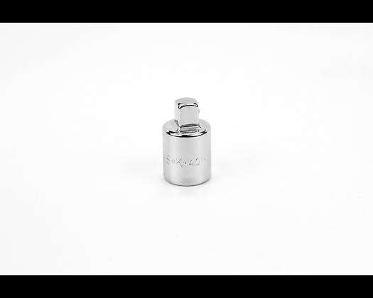 S-K 401 1/2in Female-3/8in Male Drive Chrome Adapter