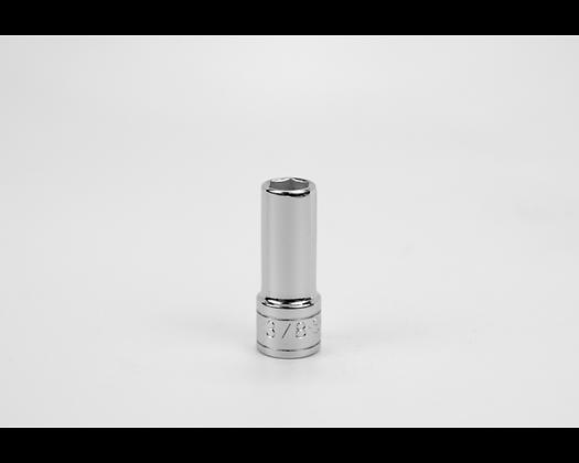 S-K 40412 3/8in 3/8in Dr 6 Point Fract Dp Chrome Socket