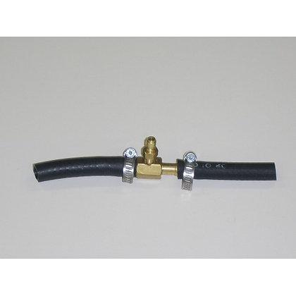 GSI 2155 Tee W/Clamps