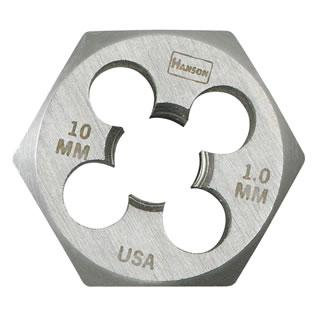 Irwin 6637  9 mm - 1.25 Hexagon Metric Die