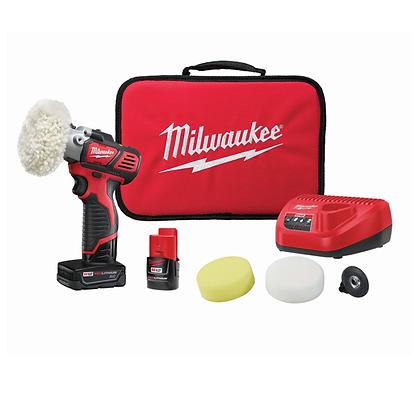 Milwaukee 2438-22X M12 Variable Speed Polisher/Sander Kit
