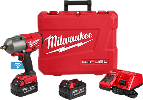 Milwaukee 2863-22 M18 FUEL w/ ONE-KEY High Torque Impact Wrench 1/2in. Kit
