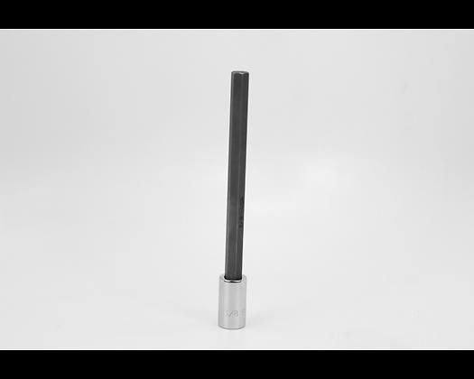 S-K 45912 3/8in 3/8in Dr Long Hex Chrome Bit Socket