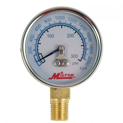 Milton 1195 1/4in. NPT High Pressure Gauge