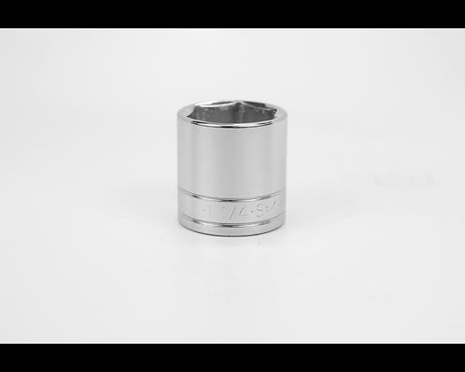 S-K 41140 1-1/4in 1/2in Dr 6 Pt Fract Std Chrome Socket