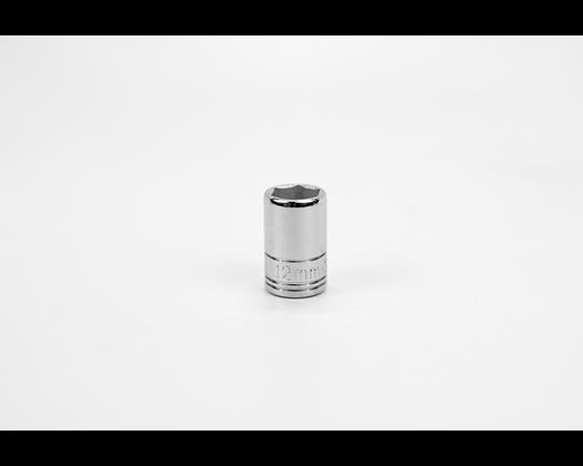 S-K 312 12mm 3/8in Drive Metric Std Chrome Socket
