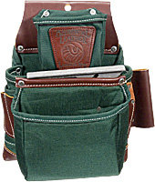 Occidental Leather 8060 OxyLights 3 Pouch Fastener Bag