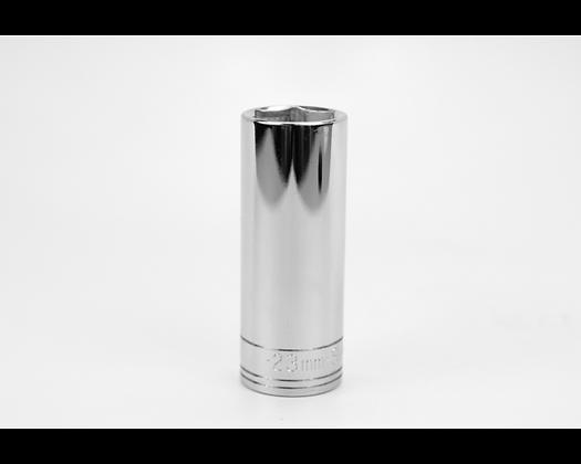 S-K 40023 23mm 1/2in Dr 6 Point Metric Dp Chrome Socket