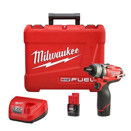 Milwaukee 2402-22 M12 FUEL 1/4in. Hex 2-Speed Screwdriver Kit