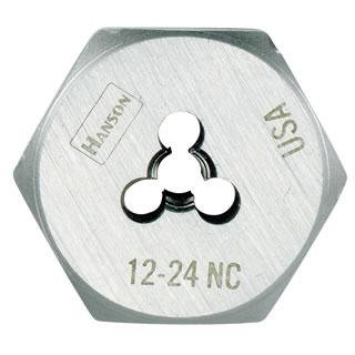 "Irwin 6545  1/2"" - 20 NF Hexagon Machine Screw Die"