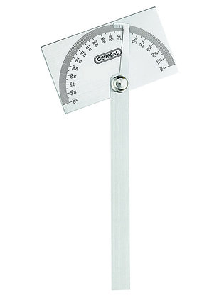 General 17 Angle-izer Square Head Stainless Steel Angle Protractor