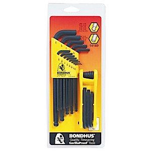 Bondhus 14189 Balldriver L-Wrench Double Pack