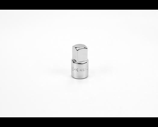 S-K 451 3/8in Female-1/2in Male Drive Chrome Adapter