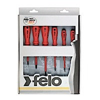 Felo 07157 50176 6 pc Slotted and Phillips Insulated Screwdriver Set