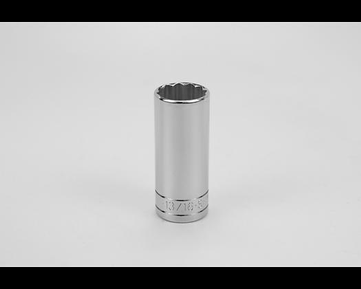 S-K 42426 13/16in 3/8in Dr 12 Pt Fract Dp Chrome Socket