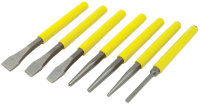 Wilmar W750 7pc Chisel & Punch Set