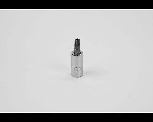 S-K 42530 T30 1/4in Dr Tamper-Proof Torx Bit Socket