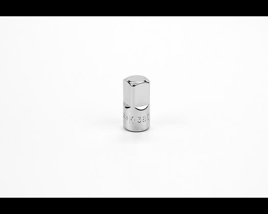 S-K 385 1/4in Female-3/8in Male Drive Chrome Adapter