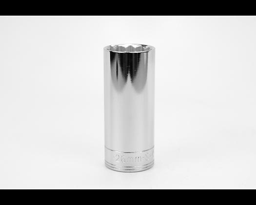 S-K 48026 26mm 1/2in Dr 12 Point Metric Dp Chrome Socket