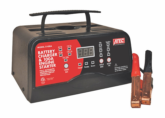 Associated 3100A Portable 6/12V Automatic Full-Rate Charger