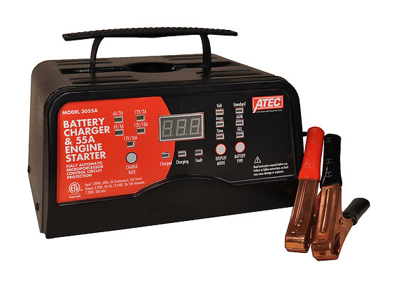 Associated 3055A Portable 6/12V Automatic Full-Rate Charger