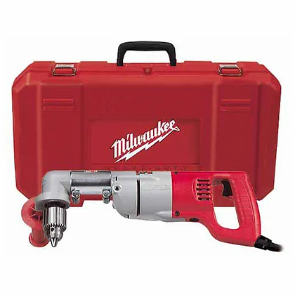 Milwaukee 3107-6 7-Amp Corded 1/2 in. Right-Angle Drill Kit with Hard Case