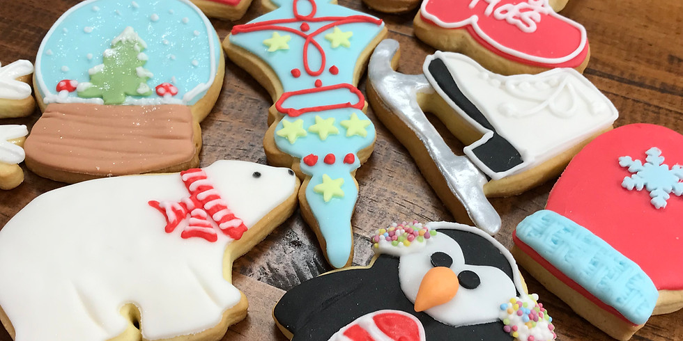 Christmas - Cookies verzieren mit Rojal - Icing ( Zuckerguss )