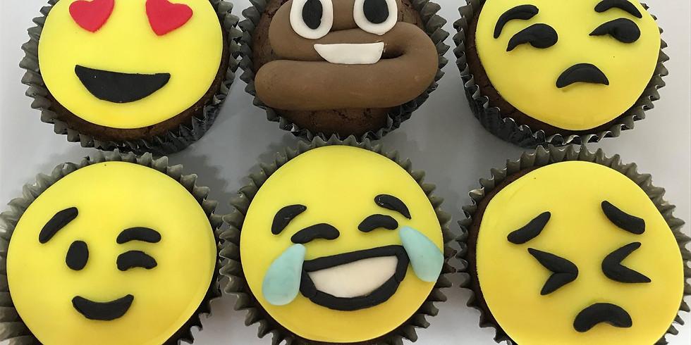 Emoji Cupcake Kurs für gross und klein (1)
