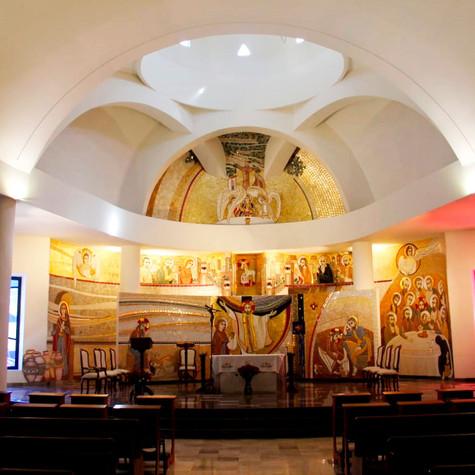 Casa de oración Santísima Trinidad.