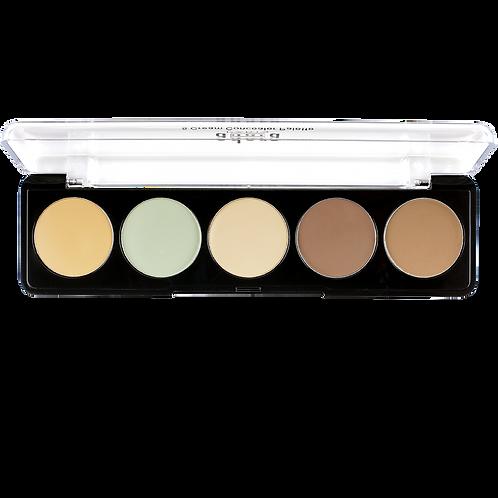 Adara Corrector Paleta 5 cream concealer palette No2