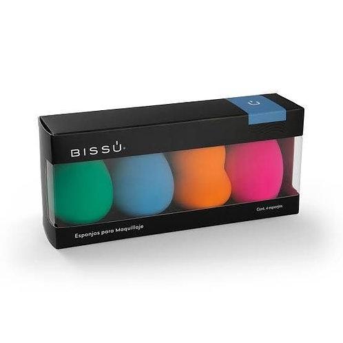 Caja Esponja para maquillaje - Bissú - individual