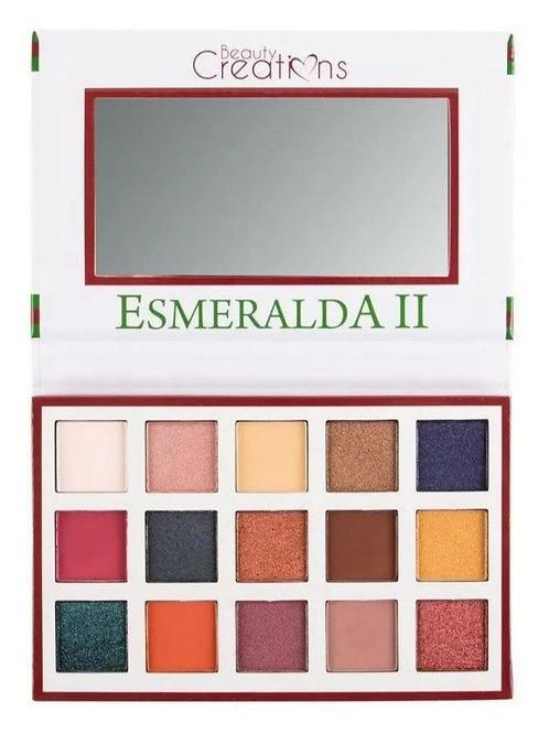 Paletas de sombras Esmeralda II Beauty Creations