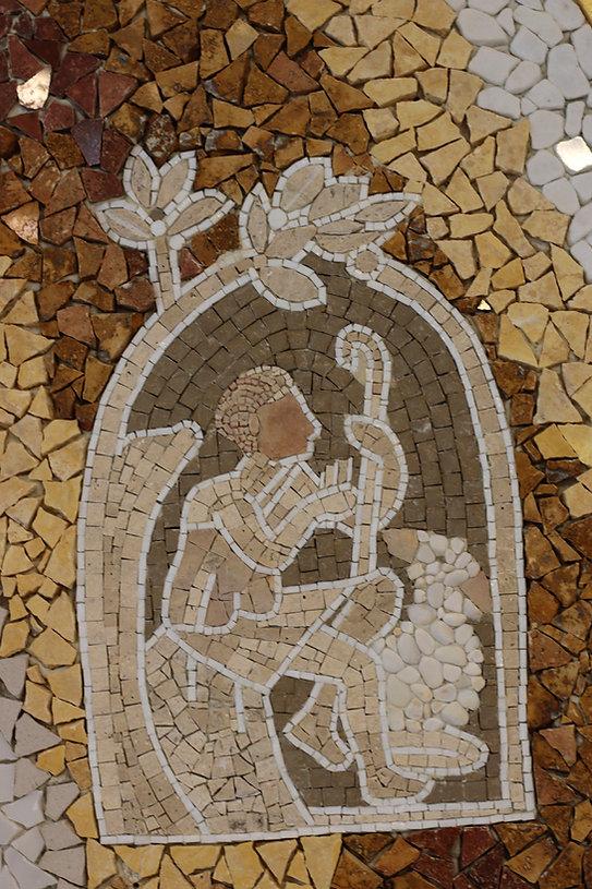 Mosaico Parroquia Santa Maria de Guadalu