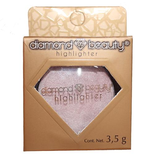Iluminador - Highligther - Beige - Diamond  Beauty