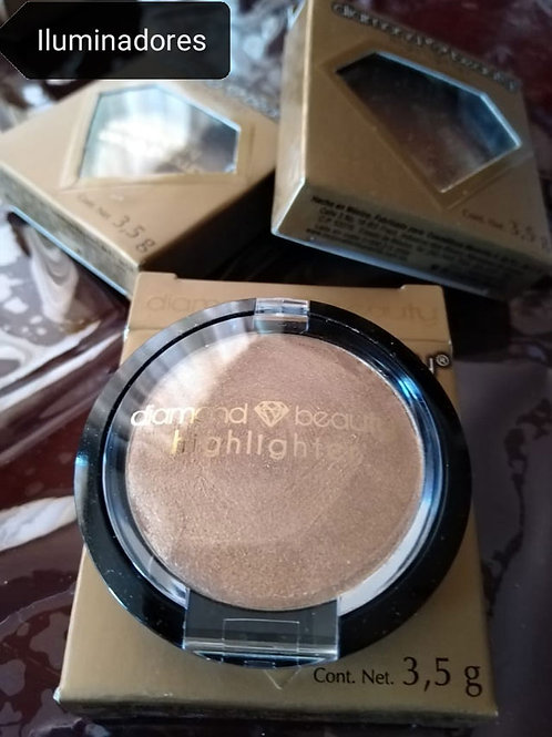 Iluminador - Highligther - Champagne - Diamond  Beauty