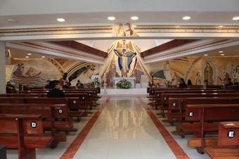 Mosaico Parroquia Santa María de Guadalupe
