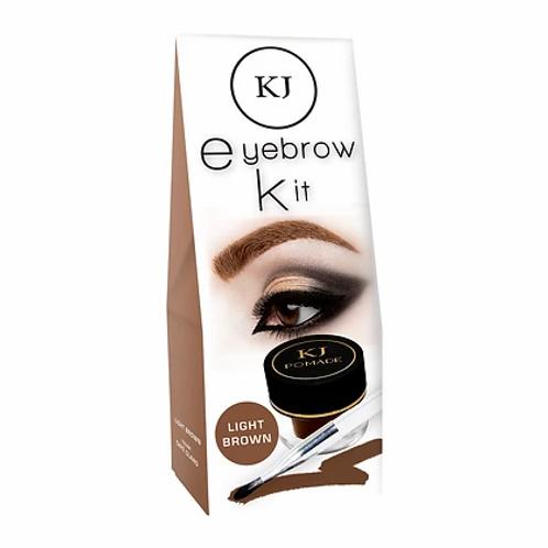Maquillaje para ceja en crema - Kejel Jabibe - Café Claro