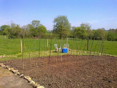 Friends In The Garden Veg. Plot April 20