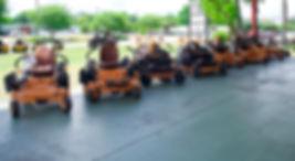 SCAG mowers. Zero Turns.