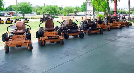 SCAG mowers. Zero Turns.