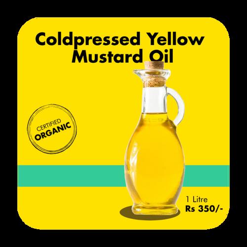Coldpressed Yellow Mustard Oil