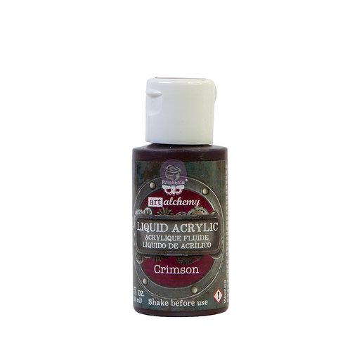 Art Alchemy – Liquid Acrylics – Crimson –  30ml