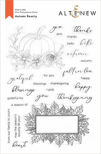 Autumn Bounty Stamp Set by Altenew®