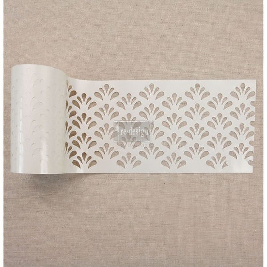 Redesign Stick & Style Stencil Roll 4″ - Eastern Fountain