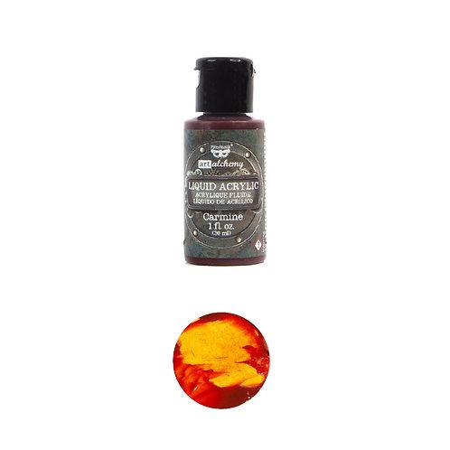 Art Alchemy – Liquid Acrylics – Carmine –  30ml