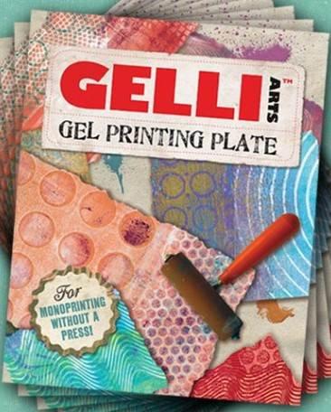 """Gelli Arts® Gel Printing Plate  6"""" x 6"""""""