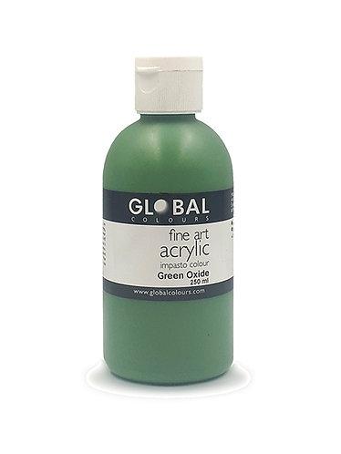 Global Artist Acrylic - Green Oxide - 250ml